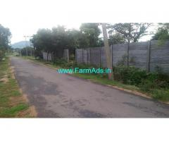 22 kunte tar road attach farm land for sale at Channapatna.