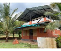 1.60 acres river side farm house for sale in Attappadi