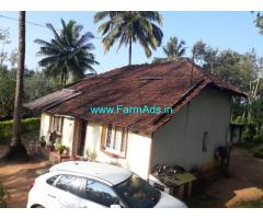 1 acre coffee estate and farm house for sale at Mudigere, chikmagalur.