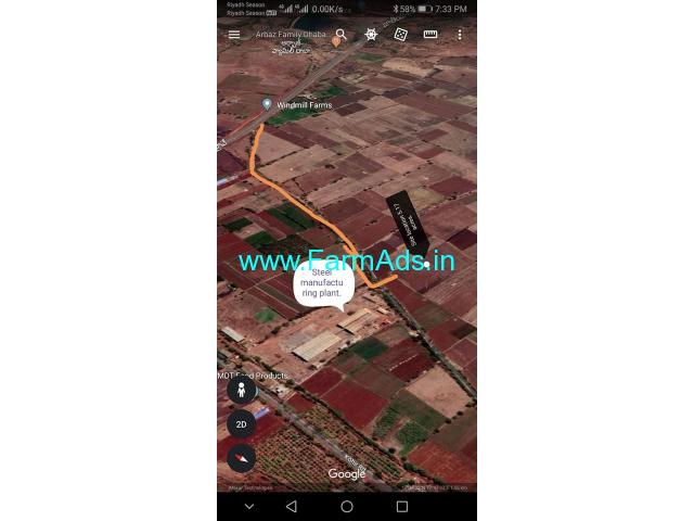 5.17 Acres Agriculture land near Kohir,Mumbai Highway