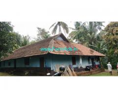 9.60 Acre Farm Land with House for Sale in Attapadi
