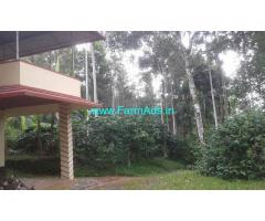 1 Acres  farm land with 1400 Sq Ft Farm House for sale at Sulthan Bathery