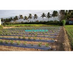 3.70 acre 4 borewell and open well Free EB SERVICE WITH IN 1 KM from NH 79