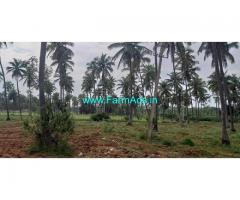 17 Acres Coconut.Mango Farm Land for Sale near Channapatna