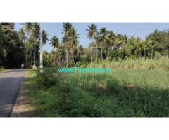 2 acre farm land for sale at Maddur. 2.5 km from blore mysore highway