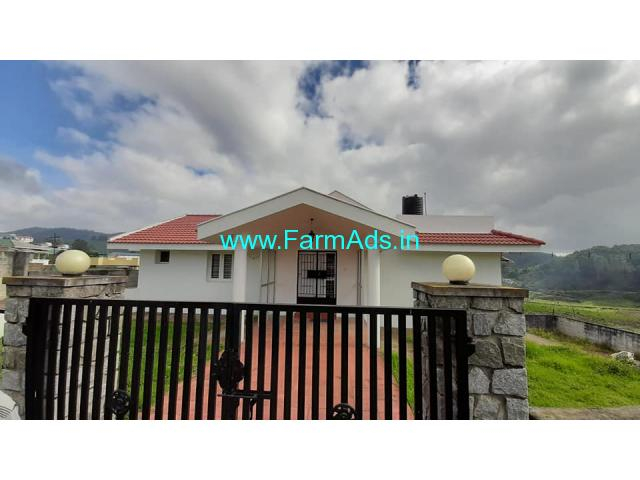 Farm Villa in 7 cents Land for Sale in Ooty