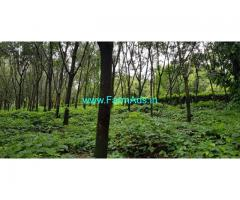 15.40 patta , kumki 4.5 acre, 6.km from karkala town for sale.