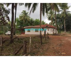 Karkala city limit urgent sale for 16 acre farm land with 3 bhk house