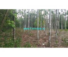 16 acre mini estate 1300 sqf , 3 bhk, house for sale at Karkala town.