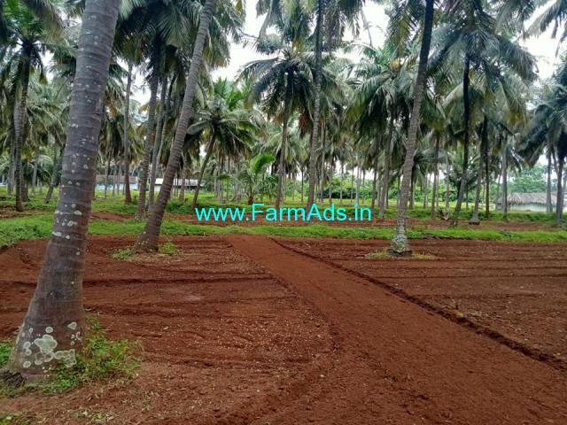 7 acres Coconut farm Land sale in Pollachi