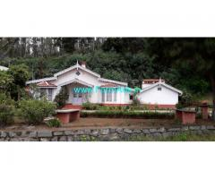 Old British bungalow for sale in Ooty