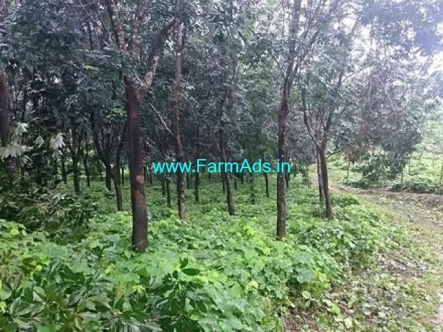 15 Acres Rubber Plantation for Sale near Karkala