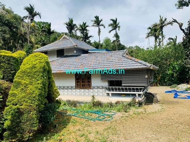 9.5 Acres Agriculture Land with Farm House For Sale at Attapady