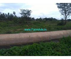 1.34 Acres Agriculture Land for Sale near Malavalli,Kollegala Main road