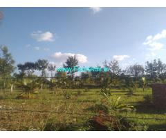 28 Gunte Farm land for sale Mysore, Bogadi ring road to land 8 km