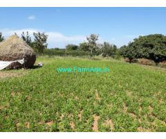 1.23 acre mango farm land Just 20 kms from mysore – near udbur