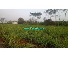 9.09 Acres  farm land Main Road for Sale at Purigali, Mandya Dist