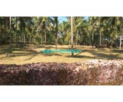 50 CENT COCONUT LAND FOR sale, with BEAUTIFUL HOME at  Kahangad-Periya.