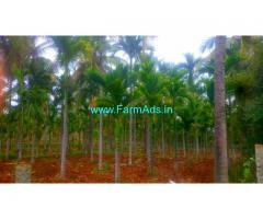 3 Acres Arecanut,Coconut Farm for Sale near Gubbi,Banawara road