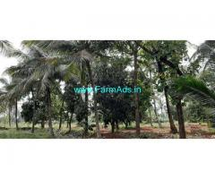 7.30 acres agriculture land with Farm house for sale on Nanjangud road