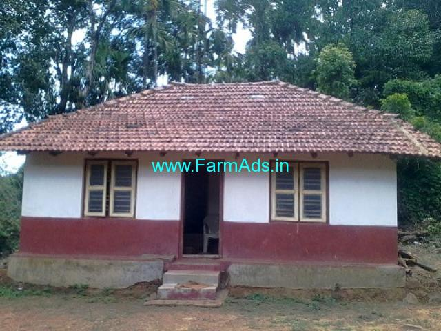 4 Acres Agriculture Land with House Sale near Koppa