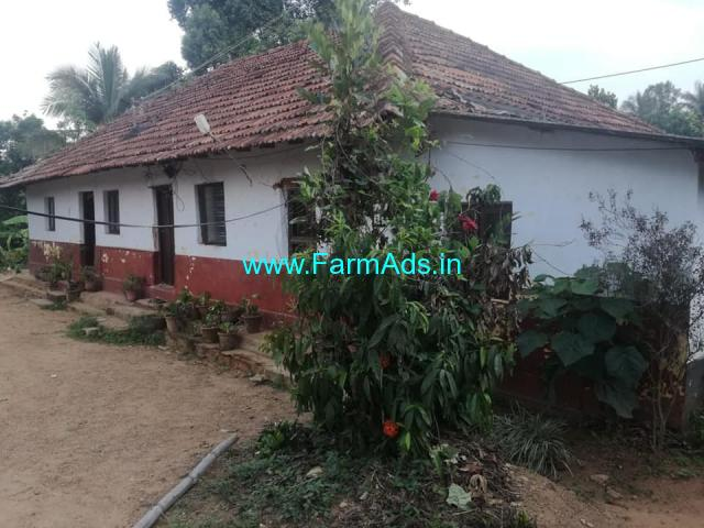 10 cents land with old house for sale at Nagori