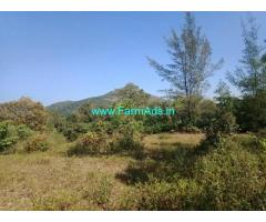 1 Acre Plain Agriculture Land for Sale near Sakleshpur