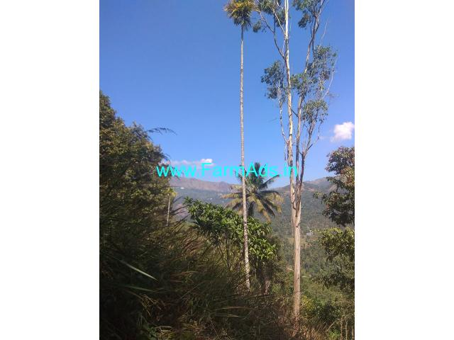 4 Acre Patta Farm Land for sale near Poopara, Idukki