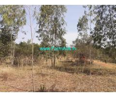 1 Acre Agriculture Land for sale at MENASI, Close to Doddaballapura town