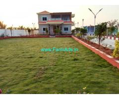 One Acre Farm House Bungalow for sale near Moinabad