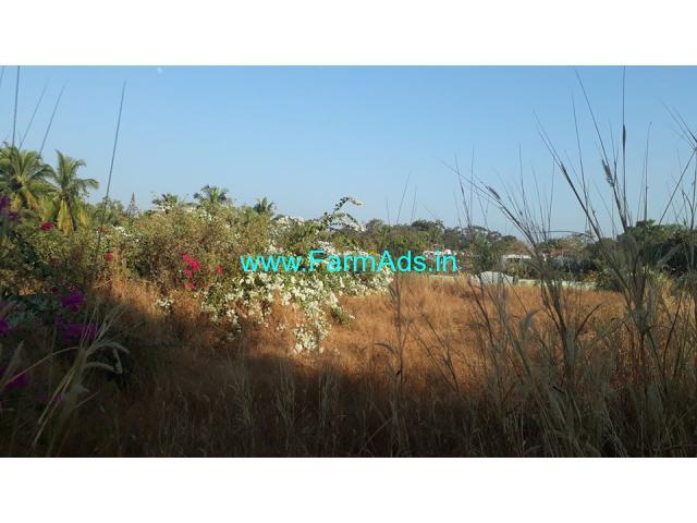 1040sq mt Land for Sale at Vagator
