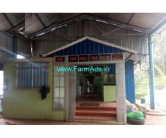 1.5 acre Tea factory for sale near Kotagiri
