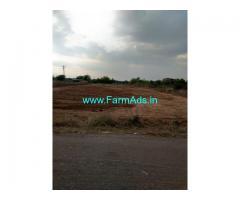 1 Acre BT road facing farm land for sale near Jogipet