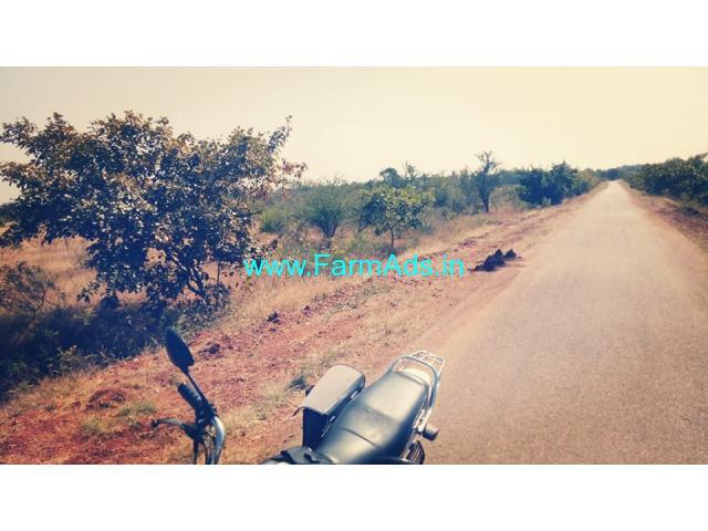 65 Acres farm land for sale near Hiriyur, 6 KMS from the town.
