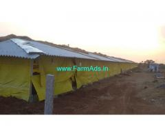 2 Acres Agriculture Land with Poultry Farm for Sale Chegunta