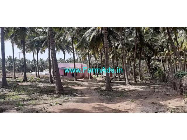 4 Acre Farm Land with Farm house for Sale Near Pethappampatti