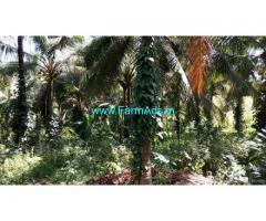 1.30 Acre Coconut Farm with Farm house for Sale near Kutikol