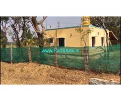 5 Acres 12 Guntas Agriculture Land with Farm house Sale Near Doddaballapur