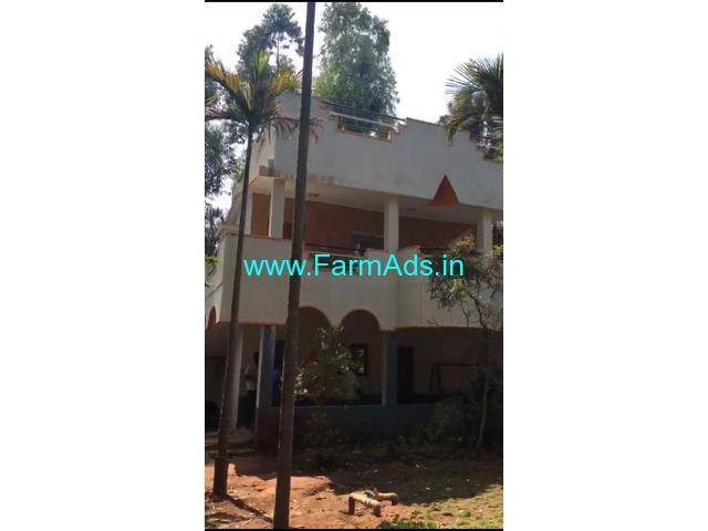 5.2 Acre Arecanut Farm with Farm house for Sale Near Doddaballapur