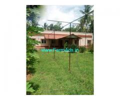 10 Acre Agriculture Land with Farm house for Sale Near Srirangapatna