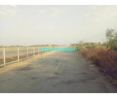 Highway attached 10 Acre agriculture Land for sale near Hiriyur