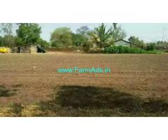 NH4 attached 45 Guntas agriculture land for sale in Kanagala
