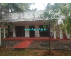 1.10 Acre Sea View Land with Beach house for Sale Kanyakumari