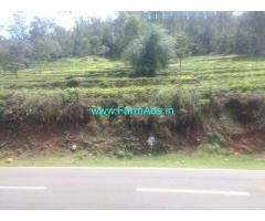 1 Acre Farm Land for Sale Near Kotagiri ,Ooty Main Road