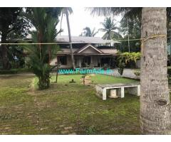Water frontage House in 63 Cents Land for Sale in Medi City