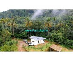 1.5 Acre with Farm house for Sale at Mankulam