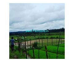 2.5 Acre Farm Land for Sale Near Sakleshpur