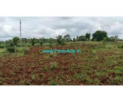25 Gunta farm land for sale at Channapatna.  70km from bangalore