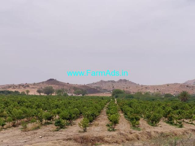 85 Acres of Land for Sale 140Kms from Bangalore near Penukonda