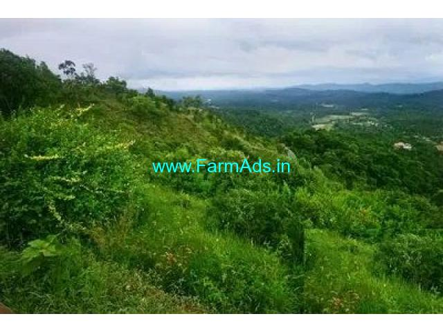 6 Acre Farm Land for Sale Near Madikeri